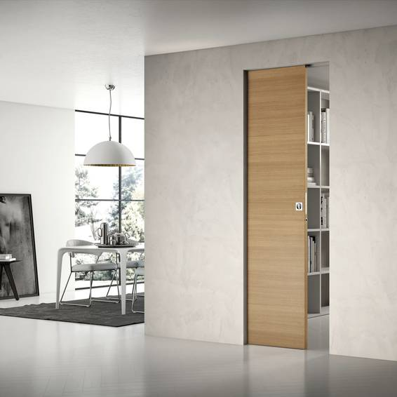 Portes coulissantes escamotables d 39 int rieur ou galandage for Porte de salon a galandage